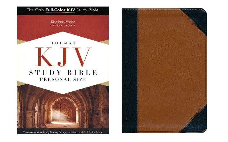 Holman KJV Study Bible Personal Size