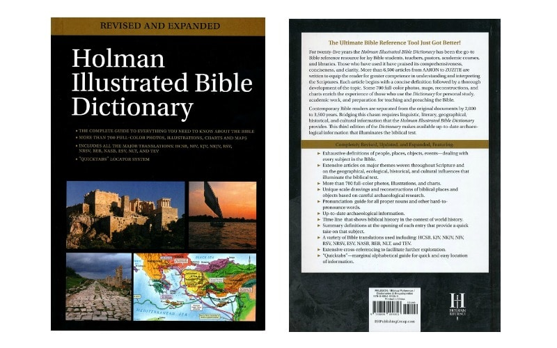Holman Illustrated Bible Dictionary Review • Bible Reviewer