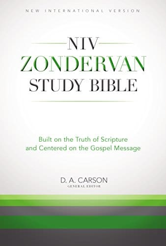 The NIV Zondervan Study Bible