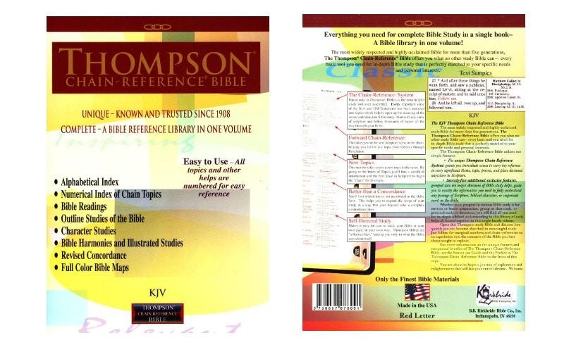 Thompson Chain Reference Bible-NKJV