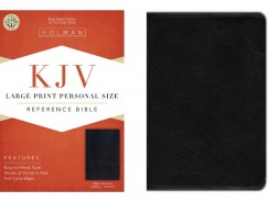KJV Large Print Personal Size Reference Bible Review